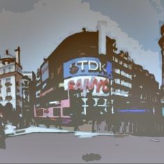 ©Claudia Bonollo, Panorama Piccadilly Circus