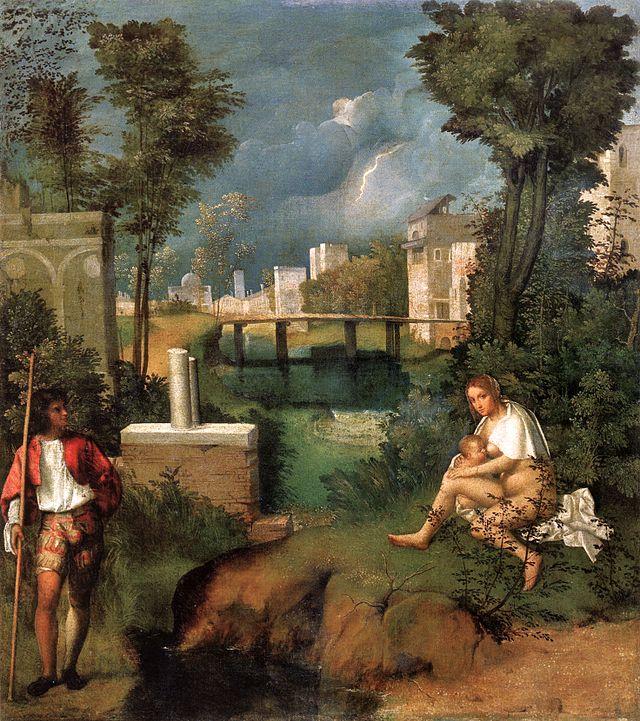 La Tempesta, Giorgione