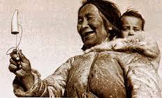 Bilboquet versione Inuit (Esquimese)