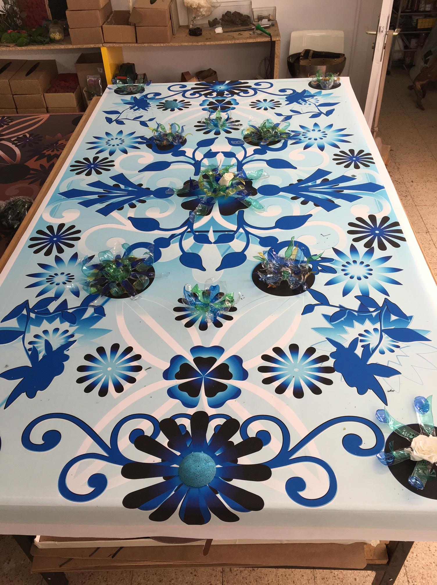 Las alfombras voladoras de claudia bonollo y wanda romano para monamour natural design en estampa 2016