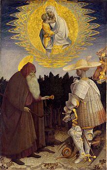Pisanello.Sant'AntonioAbate eGiorgio.jpg